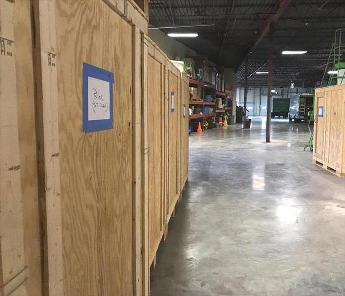 Our warehouse has plenty of storage space