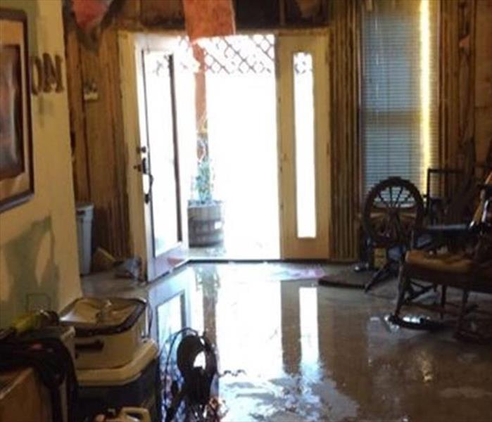 Storm-Induced Flood to a Rural Home in Oakland