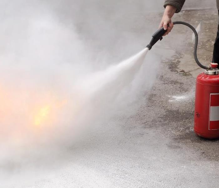 Fire Damage Quick Guide to Residential Fire Extinguishers